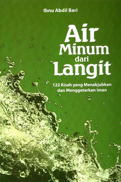 """Sinopsis buku """"Air Minum dari Langit"""""""
